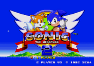 Sonic 2 Title Screen