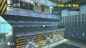 Sonic Adventure 2 (PS3) Security Hall Mission 4 A Rank