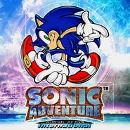 Sonic Adventure International box artwork only