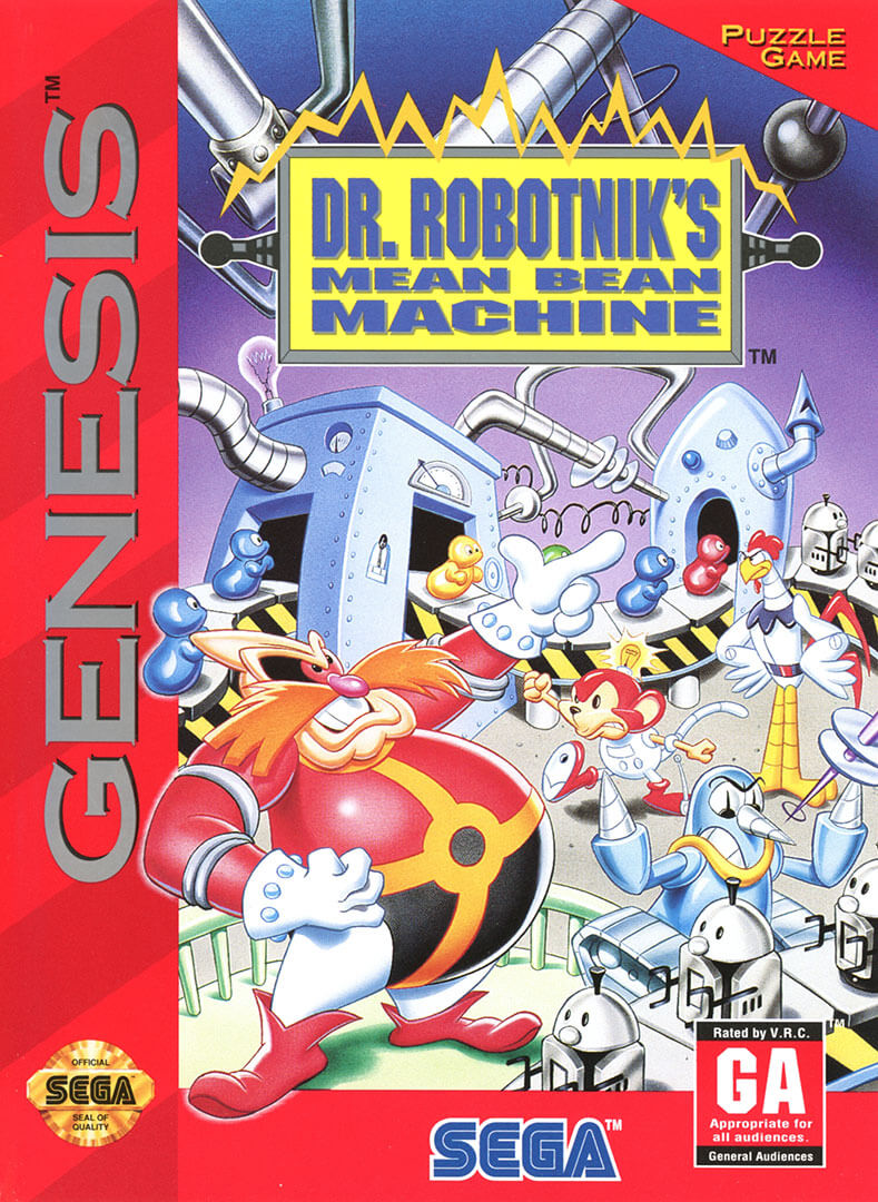 Image result for dr robotnik mean bean machine""