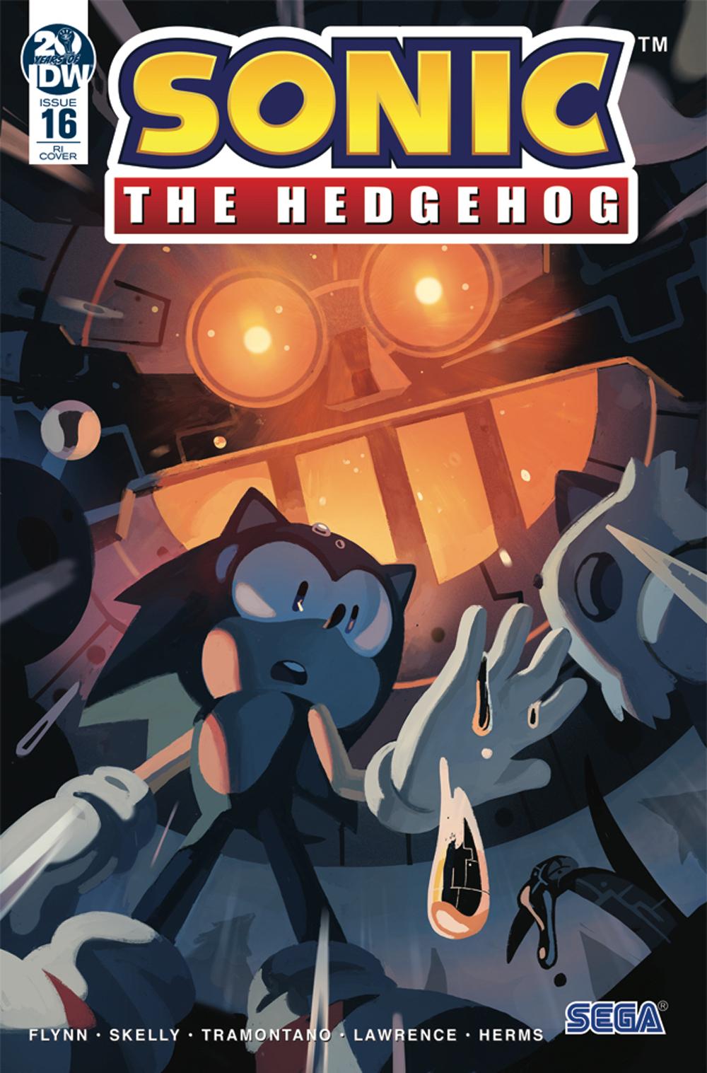 Idw Sonic The Hedgehog Issue 16 Sonic News Network Fandom