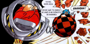 Robotnik aplasta a Sonic