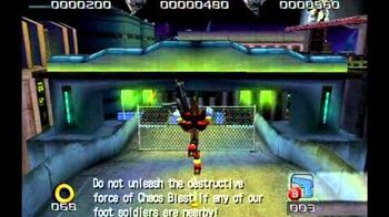 Shadow the Hedgehog (GC) Lethal Highway Dark Mission A Rank