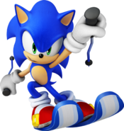 Winter Olympics Sonic 4