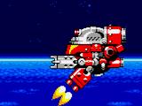 Boss poziomu Chaotic Space Zone