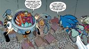 IDW 23 Sonic vs Egg Mobile