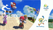 Mario & Sonic at the Rio 2016 Olympic Games - BMX Loading Screen
