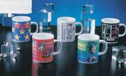 SegaSonic cups
