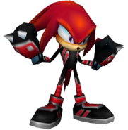 Sonic Rivals - Knuckles Leather