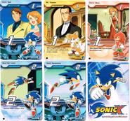 Sonic X tcg Common 011-015