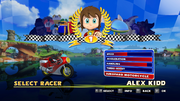 Sonic and Sega All Stars Racing character select 14