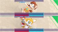 Mario & Sonic at the Rio 2016 Olympic Games - Daisy VS Tails Gymnastics