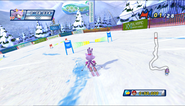 Mario Sonic Olympic Winter Games Gameplay 012