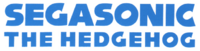 SegaSonic the Hedgehog brand logo
