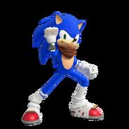 Sonic 3D Sonic Boom render