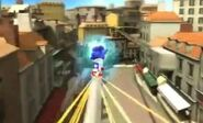 Sonic Unleashed Grinding