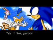 Tails, who is that primate with you