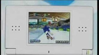 Mario & Sonic at the Olympic Winter Games Commercial