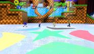 Mario Sonic Olympic Winter Games Gameplay 345