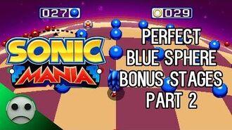 SM - All Perfect Blue Sphere Bonus Stages (17-32) - Part 2