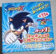 SegaToys SonicX FigureCollection Box