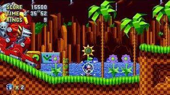 Sonic Mania Boss 2 - Death Egg Robot