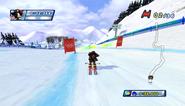 Mario Sonic Olympic Winter Games Gameplay 005