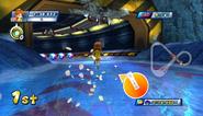 Mario Sonic Olympic Winter Games Gameplay 285
