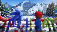 Mario Sonic Olympic Winter Games Opening 18