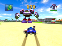Sonic & SEGA All-Stars Racing Seaside Square 3