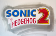Sonic 2 early logo
