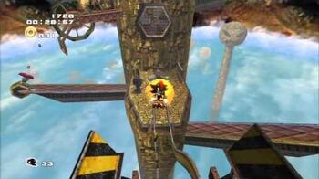 Sonic Adventure 2 (PS3) Sky Rail Mission 2 A Rank