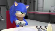 Sonic annoyed