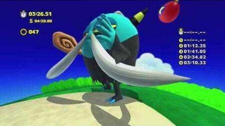 Sonic Lost World - Wii U - Tropical Coast Zone 4