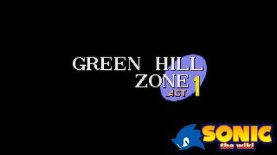 Sonic the Hedgehog (1991) - Green Hill Zone, Akt 1