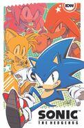 IDW Sonic NYCC Promo