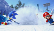 Mario Sonic Olympic Winter Games Opening 66