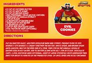 SB Twitter Evil Cookies recipe
