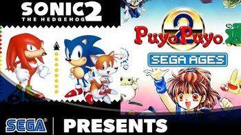 SEGA AGES Sonic The Hedgehog 2 & Puyo Puyo 2 Launch Trailer