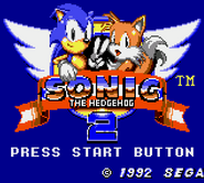 Sonic28bit GG title