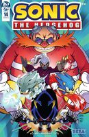 IDW Sonic the Hedgehog Issue 14