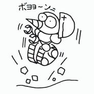 Burrobot sketch 3