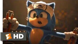 Sonic's Cave Scene