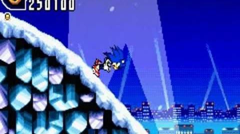 Sonic Advance 2 (GBA) Ice Paradise Zone