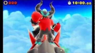Sonic Lost World (3DS) - Zavok Boss Battle (S-Rank)-0