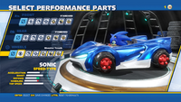 Sonic Spinners Wheels