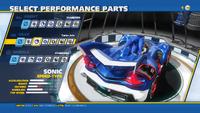 Sonic Turbo Jets Rear