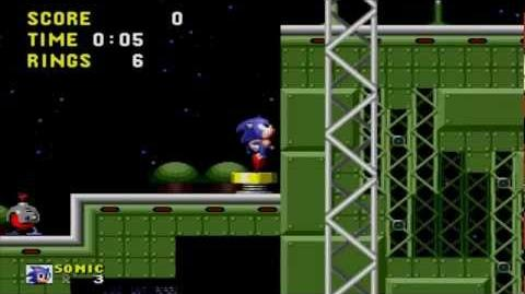Sonic the Hedgehog Star Light Zone Act 1