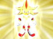 Super Shadow de Sonic X