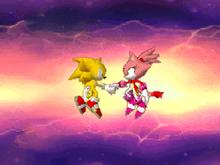 Super Sonic i Burning Blaze departure